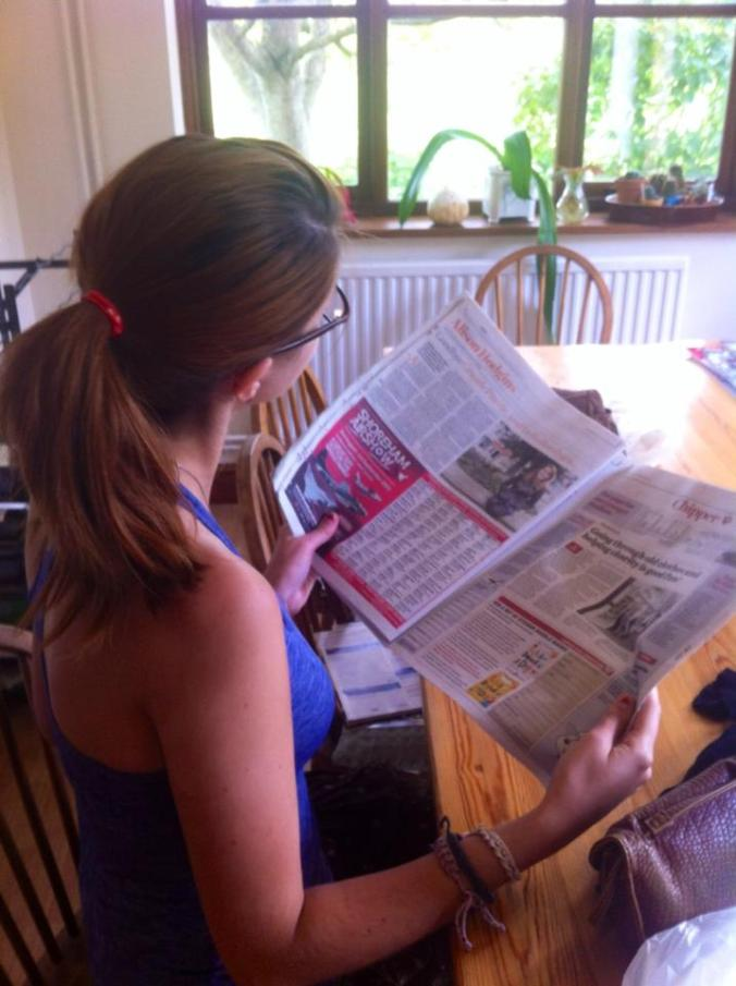 annoucing my initiation as a UK columnist - for the second time